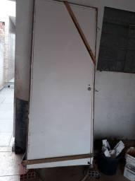 Porta de Madeira com Batente de 80 Lado Direito