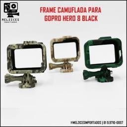 Título do anúncio: Frame Camuflada Para GoPro Hero 8 Black