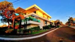 Sobrado 4 Suítes, 422 m², semi mobiliado e lazer no Condomínio Mirante do Lago