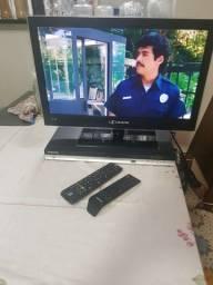 TV H Buster 22'' + DVD Samsung
