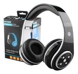 Fone Ouvido Favix Fx-b06 Orignal Bluetooth Radio Rm Sd Card