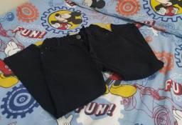 Calça infantil preta