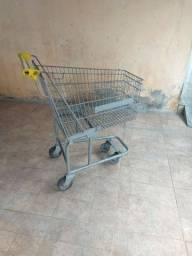 Carrinho de supermercado.
