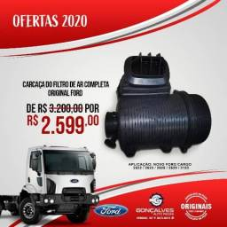 CARCAÇA DO FILTRO DE AR COMPLETA ORIGINAL FORD