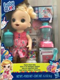Boneca Baby Alive bebê batidos mágicos/misturinha