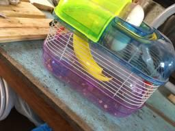 Gaiola pequena pra hamster