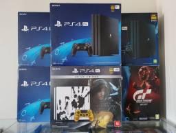 Playstation 4 Pro 4K 1TB Preto  / Promoção / Troco / Parcelo