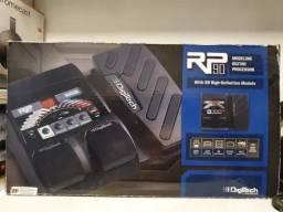 Pedaleira Digitech Rp 90 Com pedal de expressão Na Caixa Novíssima
