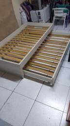 Bicama madeira 100%mdf três posições