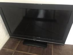 TV PHILCO 32 polegadas, adaptador e controles