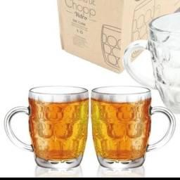 Conjunto: canecas chopp Westewing+copos cristais+ petisqueira portuguesa+copos aperitivos