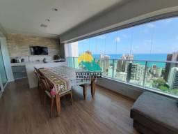 244 m²   Espetacular vista mar   100% projetado   1 por andar   Alto padrão no Meireles