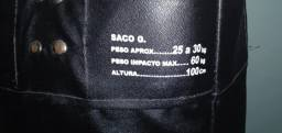 Vendo saco de pancadas novo 4 meses de uso