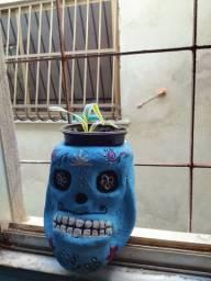 Vaso caveira mexicana