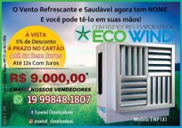 Climatizador de ar evaporativo Ecowind