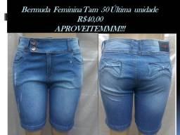 Bermuda Feminina Tam 50