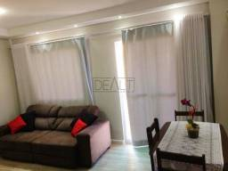 Apartamento com 3 dormitórios à venda, 66 m² por R$ 340.000 -Praças do Ipê Roxo- Sumaré/SP