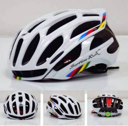 Capacete ciclismo Mtb scorpion Works com led