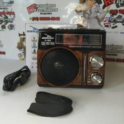 Radio am fm usb sd com lanterna recarregável, usado comprar usado  São Luís