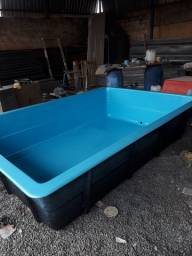 Vendo piscina de 6000 l e de 1000 litros