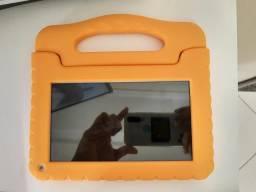 Tablet infantil Multilaser Kid Pad Go com capa comprar usado  Feira de Santana