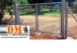 Usado, Fabricante de Portão de Tela Alambrado comprar usado  Belo Horizonte