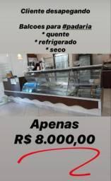 Balcão confeitaria BARBADA R$ 8000,00