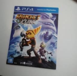 Ratchet clank  jogo ps4