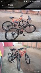 Vendo duas bicicletas Aro 26 semi novas