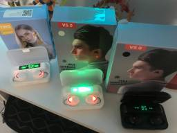 Fones wireless na caixa BLUETOOTH
