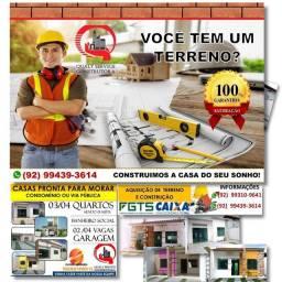 Construção - Reformas - Aquisição de Terreno e Construção