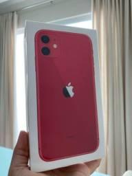 Iphone 11 64GB vermelho NOVO