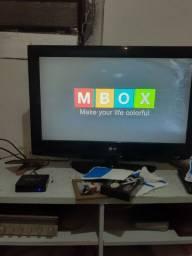 TV box novo 2 meses de uso