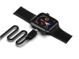 Smartwatch W34 Iwo 8 Lite faz ligações Preto ou Branco