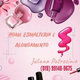 Manicure , Pedicure e Alongamento!!!