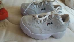 Sapatos femenino infantil