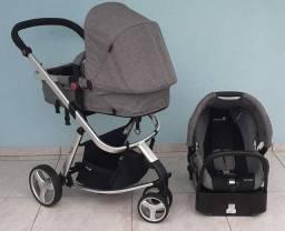 Carrinho com Bebê Conforto Safety Mobi