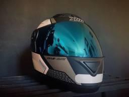 Capacete Pro Series com viseira iridium - tamanho 58