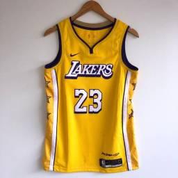 Camisa Lakers City Edition Original Lebron James #23 - P