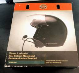 Kit headset Boom! Audio intercomunicador original Harley Davidson Electra/Street/Ultra