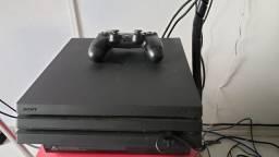 PS4 Pro 1 controle Impecável