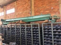 Fábrica de telhas de concreto