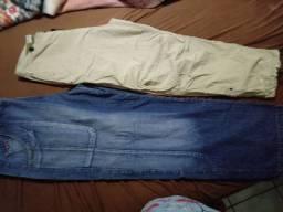Calças e bermuda masculino tamanhos EGG