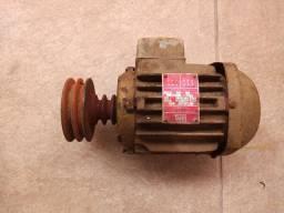 Motor Elétrico Weg 1,0cv 1720rpm Trifásico 220/380/440v(Usado)