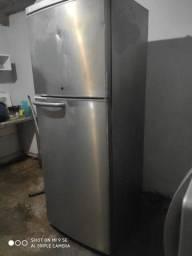 geladeira inox grande 470 Litros