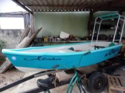 Barco de 3,5m com carretinha