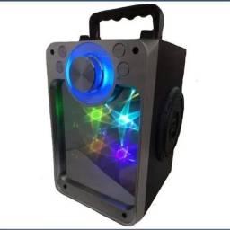 Caixa De Som Bluetooth Kts Amplificada Portátil Espelhada (aceitamos cartão)