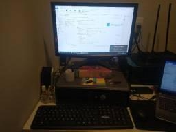 Pra sair hoje e ainda tem desconto Computador Core2duo E7200, Gforce210, 4GB Ram, HD 500GB