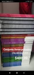 Conjunto completo livros didáticos poliedro