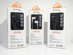 Fone com microfone original Pmcell com frete grátis e garantia 120 dias.